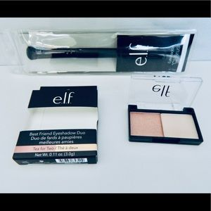 💥4/$20 New ELF Eyeshadow Duo & Eyeshadow Brush